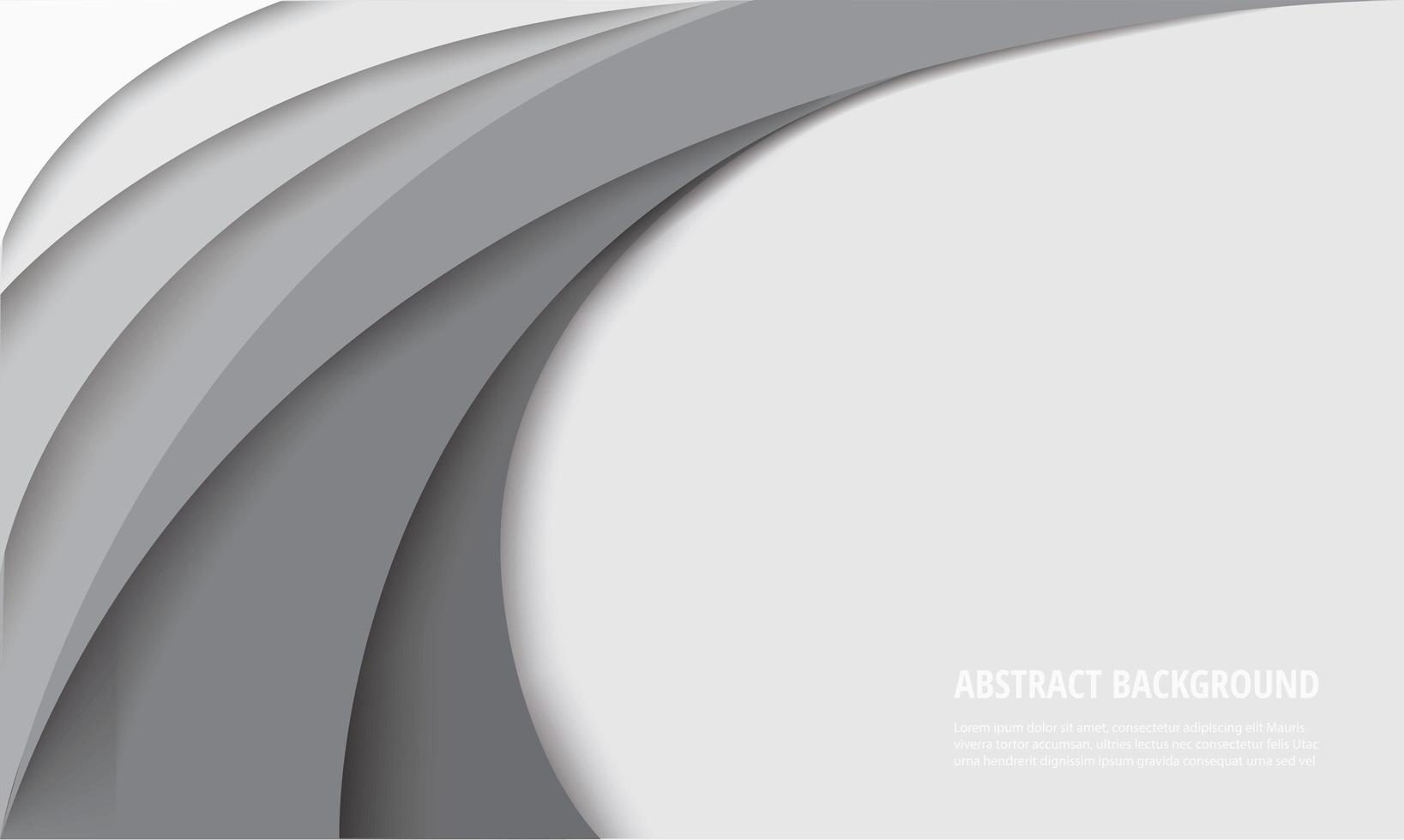 fundo branco do modelo de curva vetor