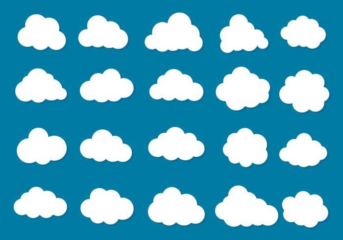 Colecção livre Vector Clouds Ícone