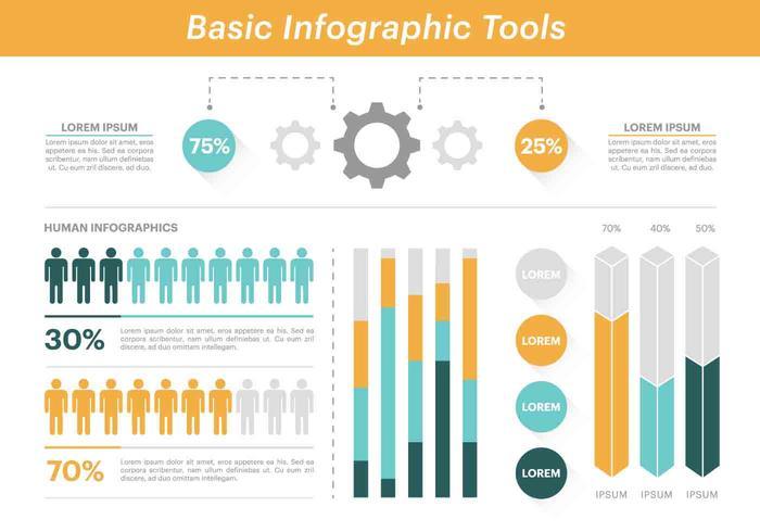 Free Vector Elementos de Infographic