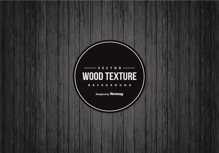 Background Drak Black Wood vetor