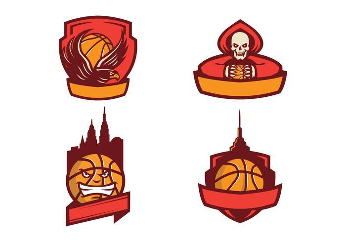 Basketball Free Vector Logo