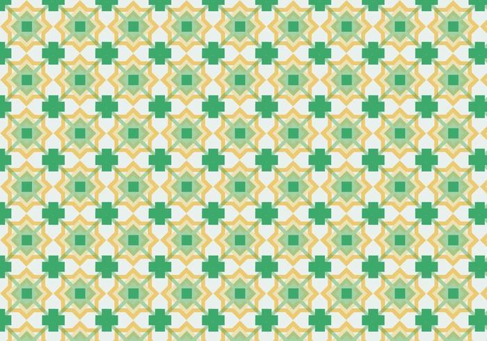 Fundo do teste padrão quadrado colorido vetor