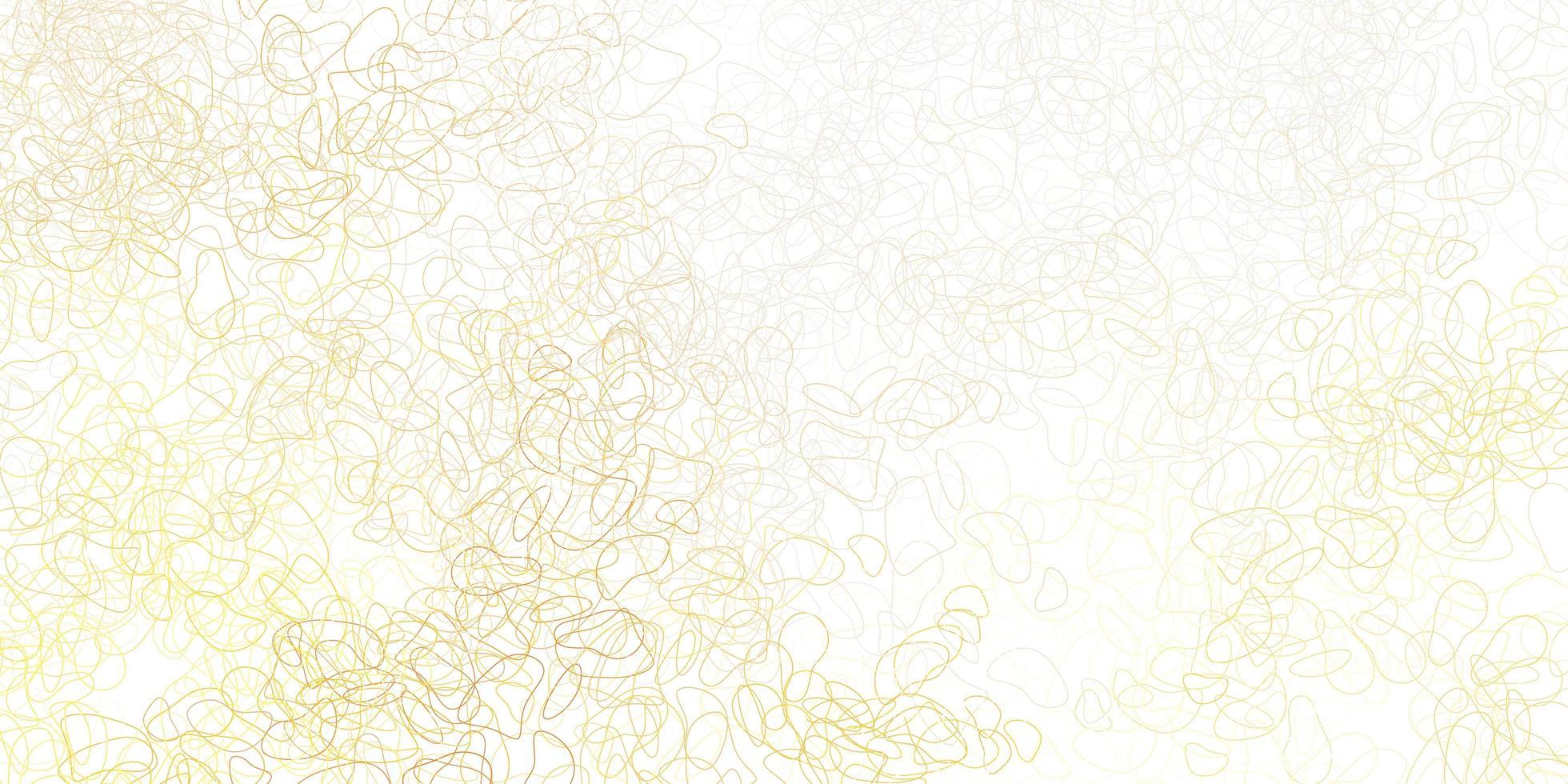 modelo laranja claro com formas abstratas. vetor