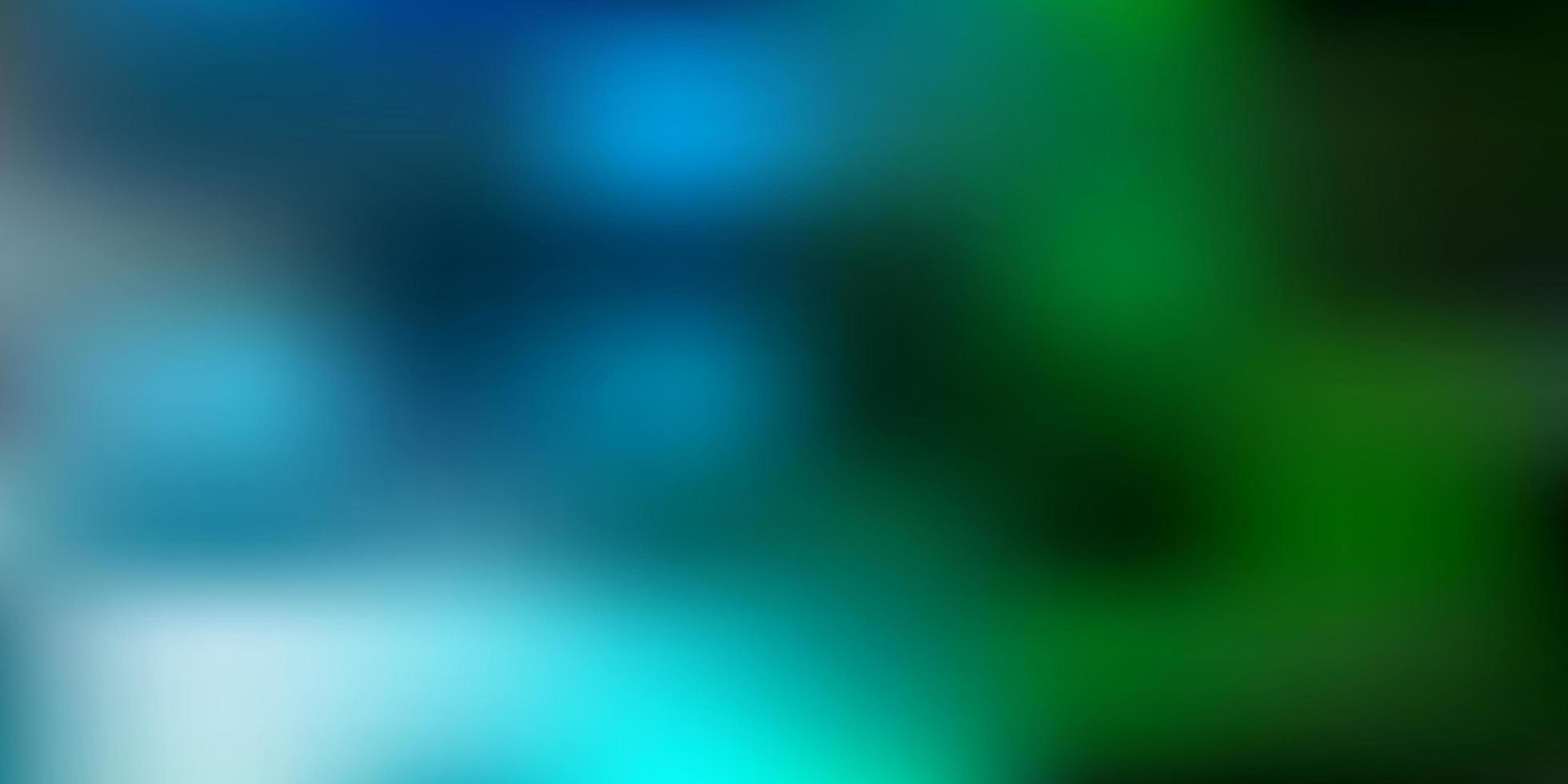 textura de desfoque de gradiente azul e verde claro. vetor