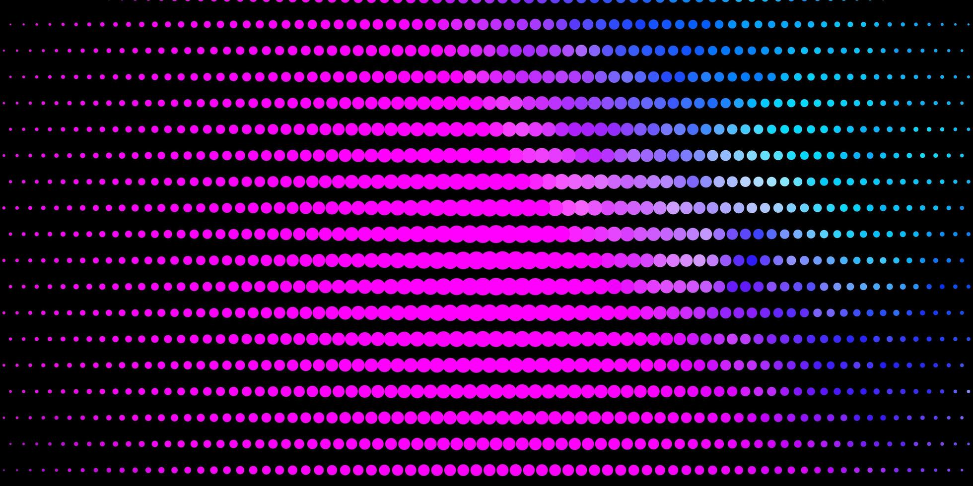 pano de fundo rosa e azul com círculos. vetor