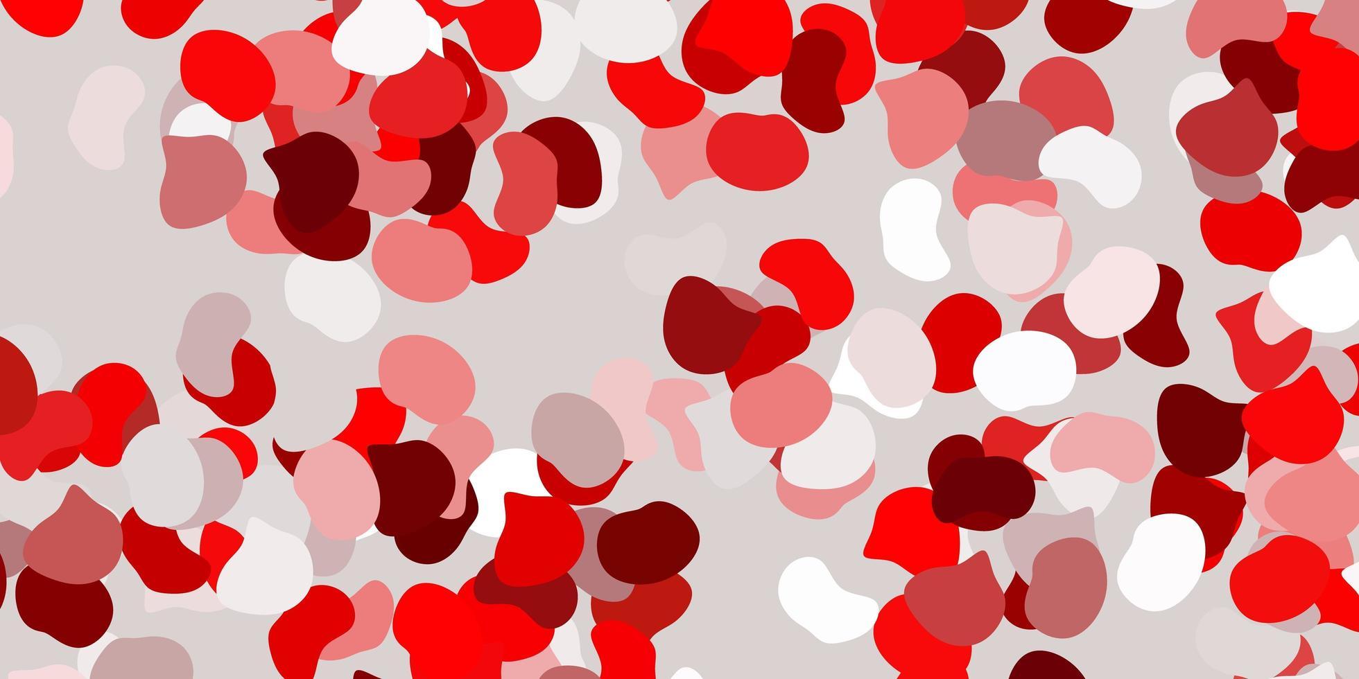 pano de fundo vermelho com formas caóticas. vetor