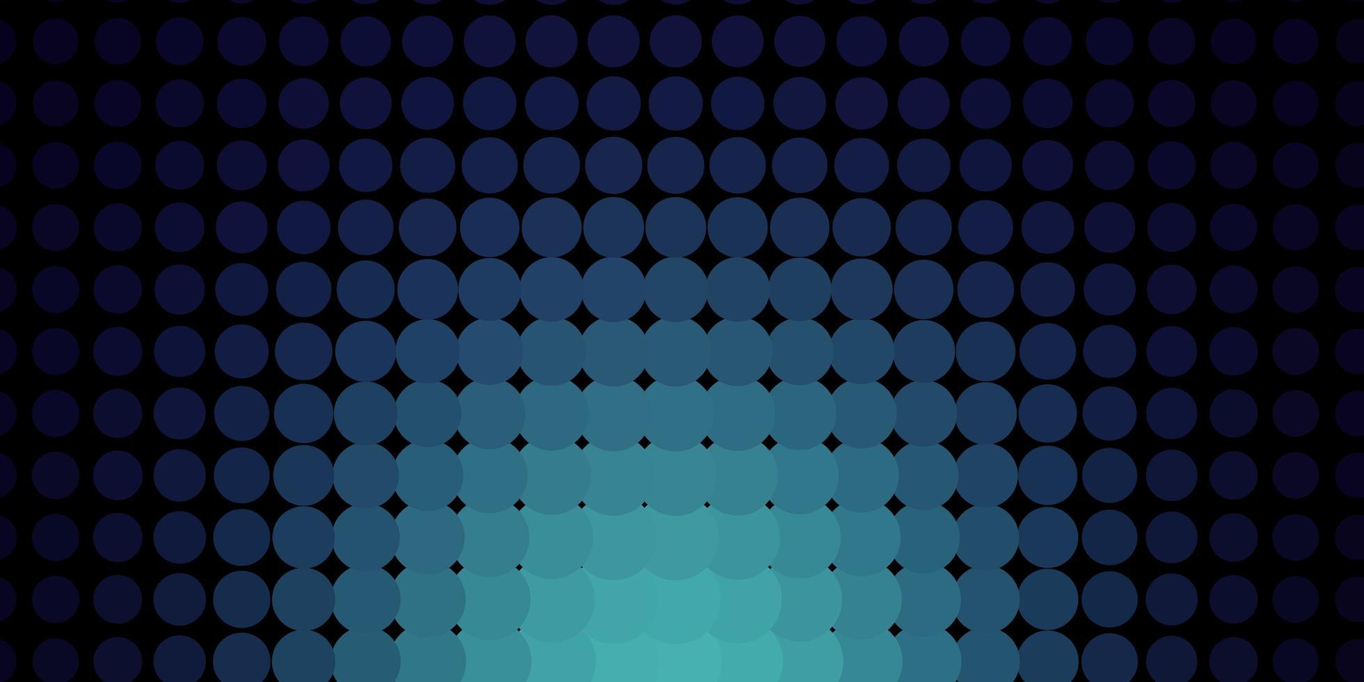textura azul escura com discos. vetor