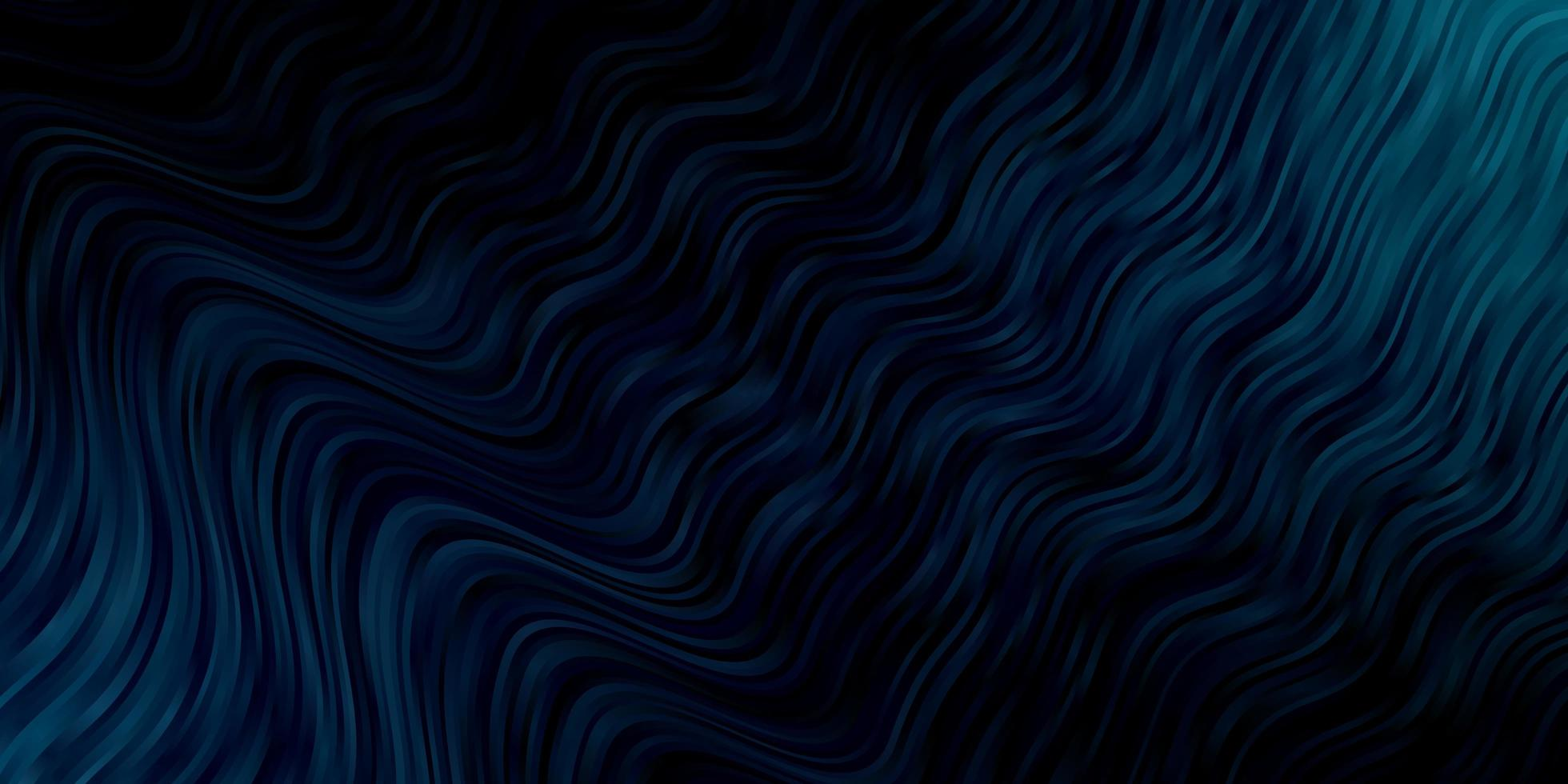 textura azul escura com curvas. vetor