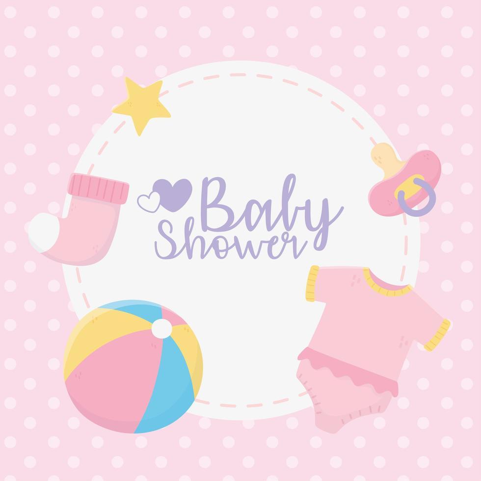 etiqueta de chá de bebê fofo vetor