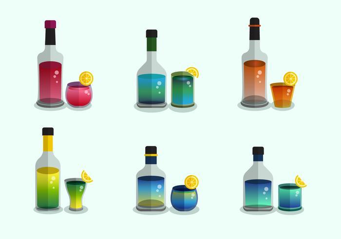 Spritz Coleção de vetores
