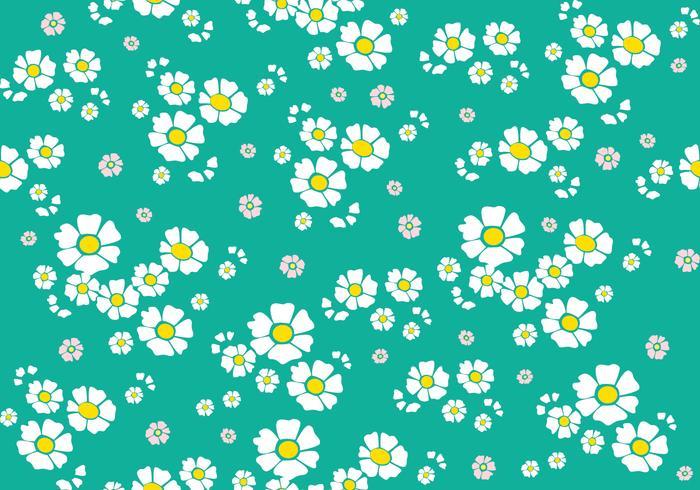 Padrão floral sem costura vetor