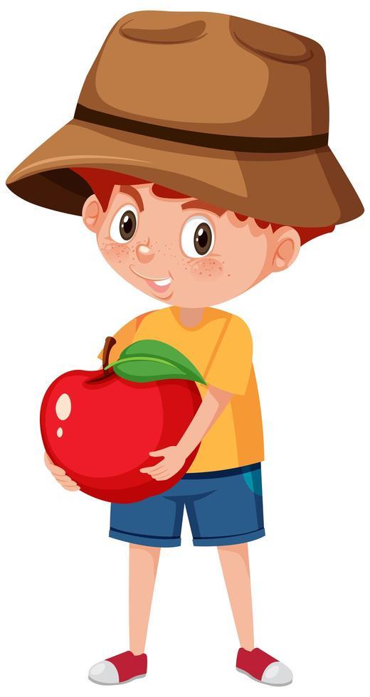 criança personagem de desenho animado segurando frutas ou vegetais isolados  no fundo branco - Download Vetores Gratis, Desenhos de Vetor, Modelos e  Clipart