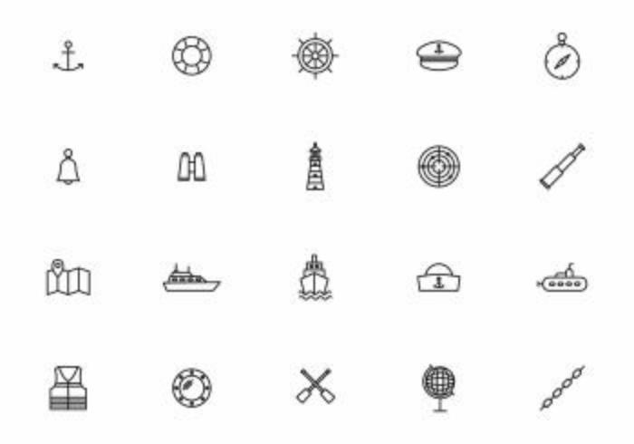 Vetores náuticos e marinhos gratuitos