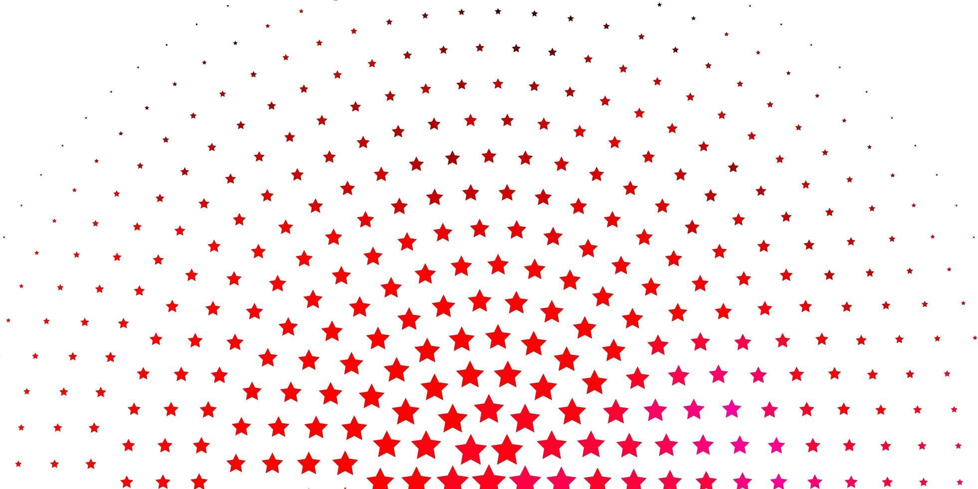 padrão de rosa claro com estrelas abstratas. vetor