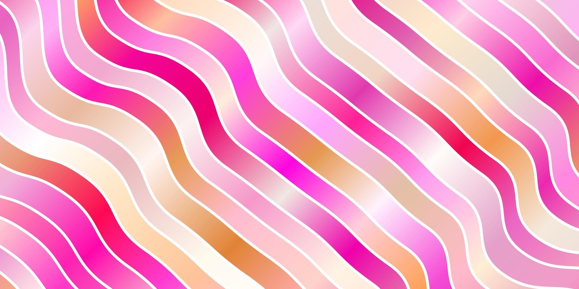 modelo rosa com linhas curvas. vetor