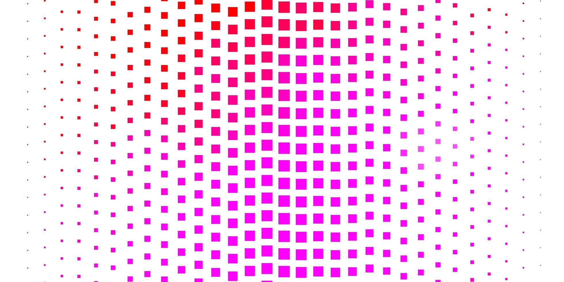 textura rosa clara em estilo retangular. vetor