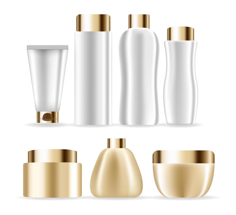 maquete de produto cosmético vetor