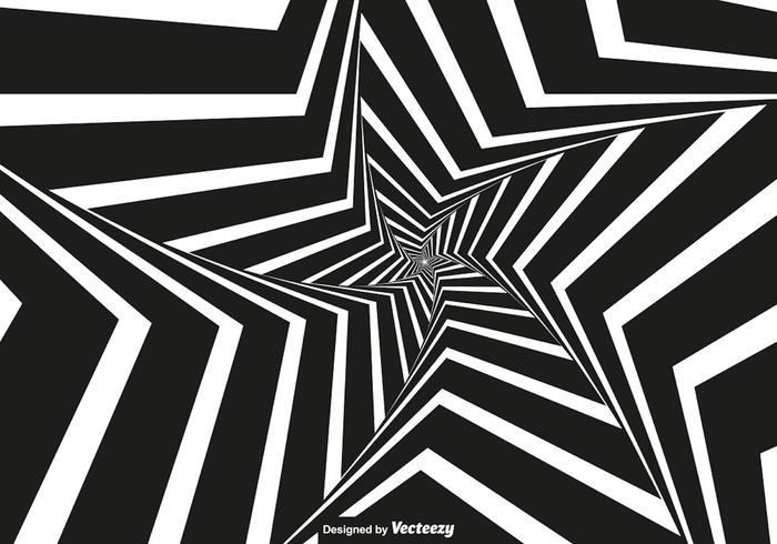 Vector Vertigo - Fundo preto e branco da vertigem