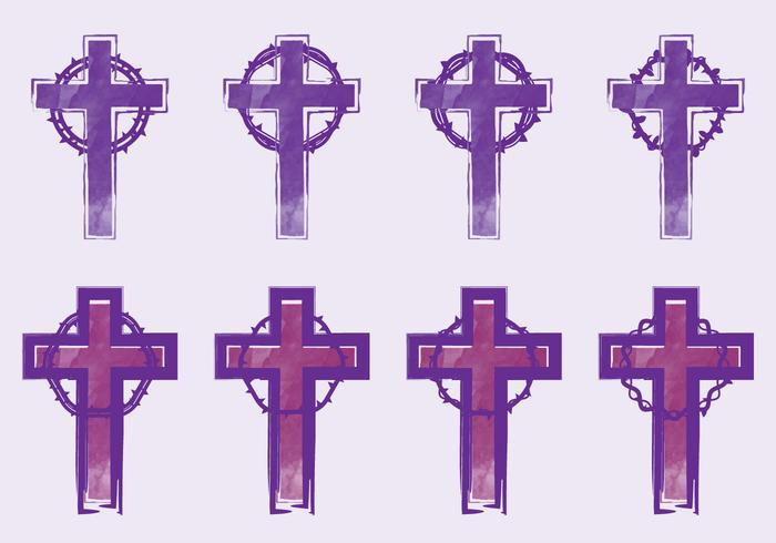 emprestado cruz vetor