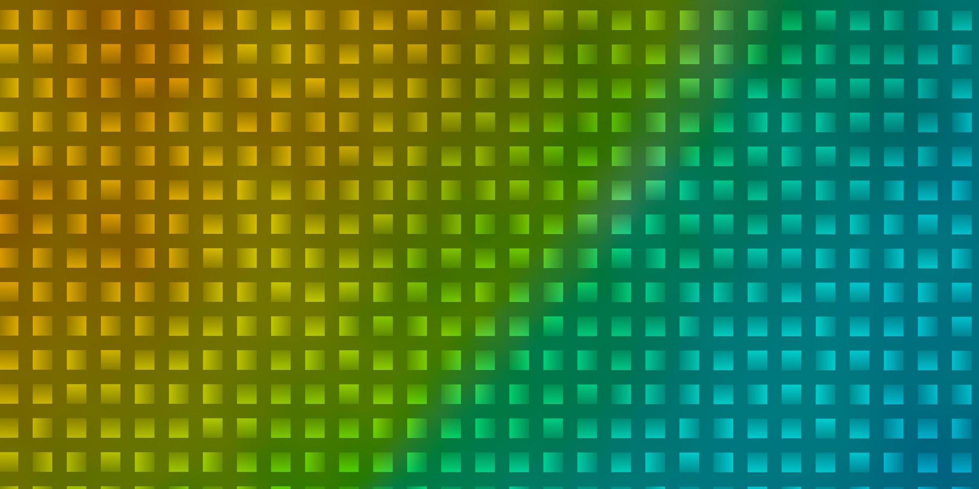 pano de fundo azul claro e amarelo com retângulos. vetor