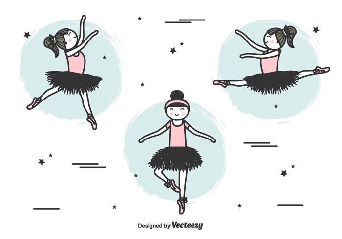 Vector Ballerinas