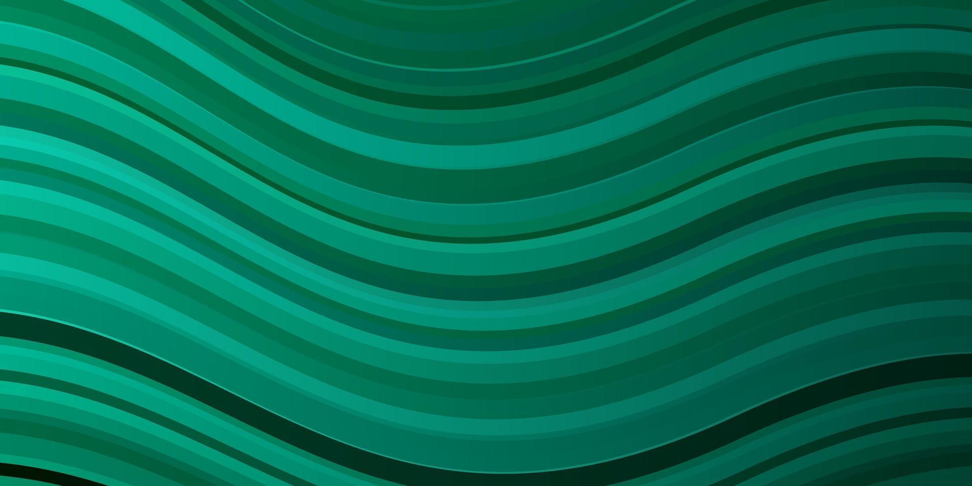 fundo verde claro com arcos. vetor