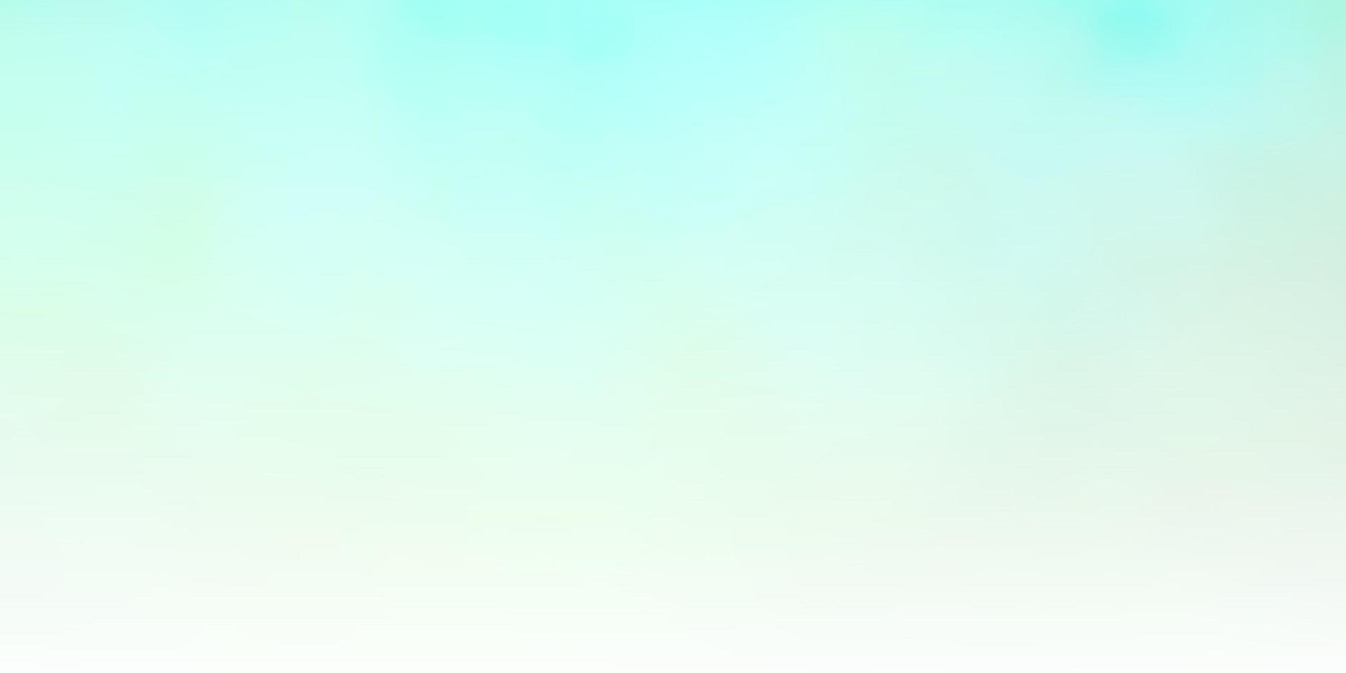 padrão de luz verde com nuvens. vetor