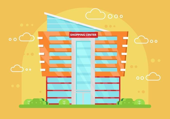 Ilustração vetorial Free Shopping Center vetor
