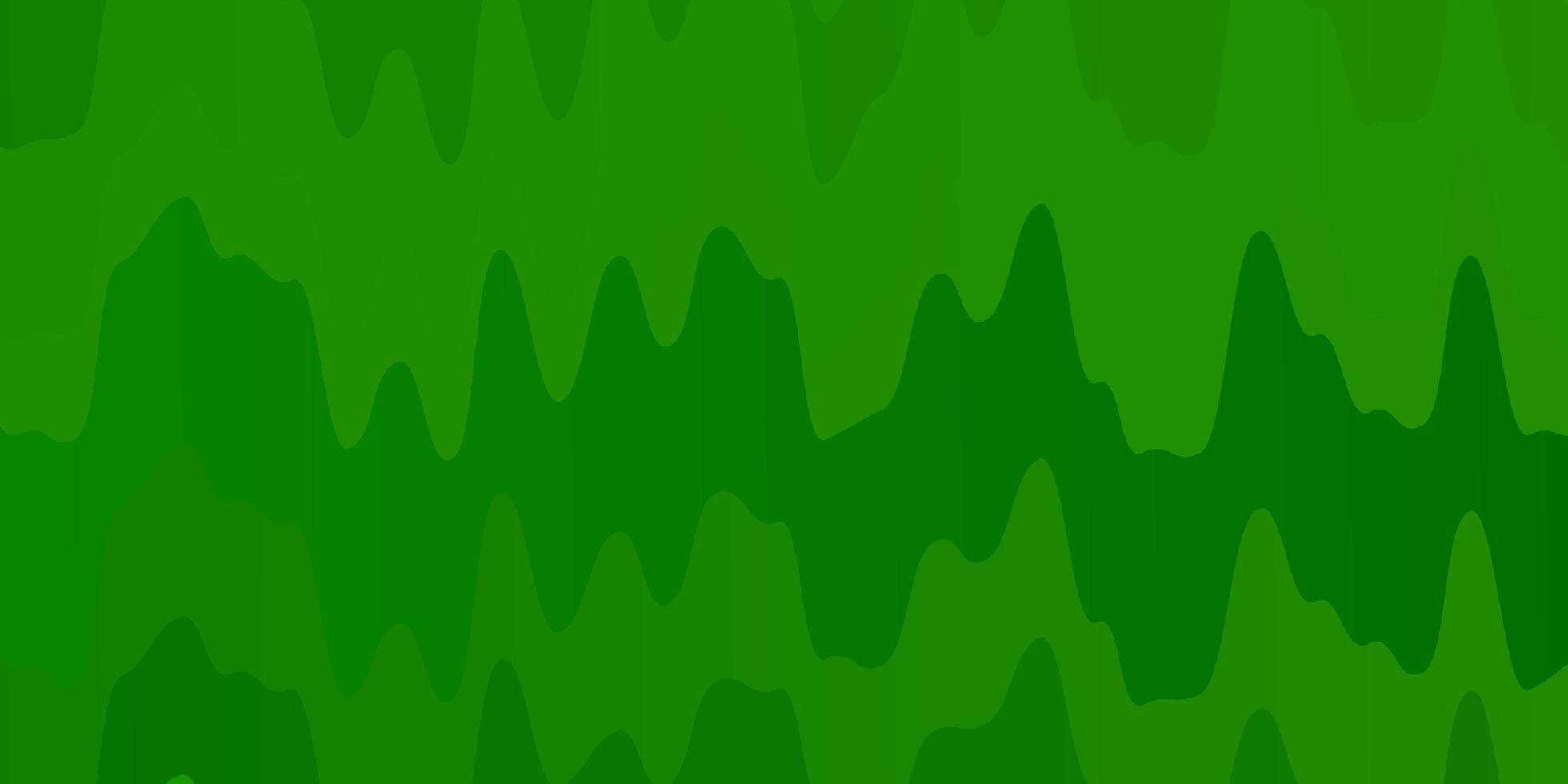 fundo verde claro com linhas curvas. vetor
