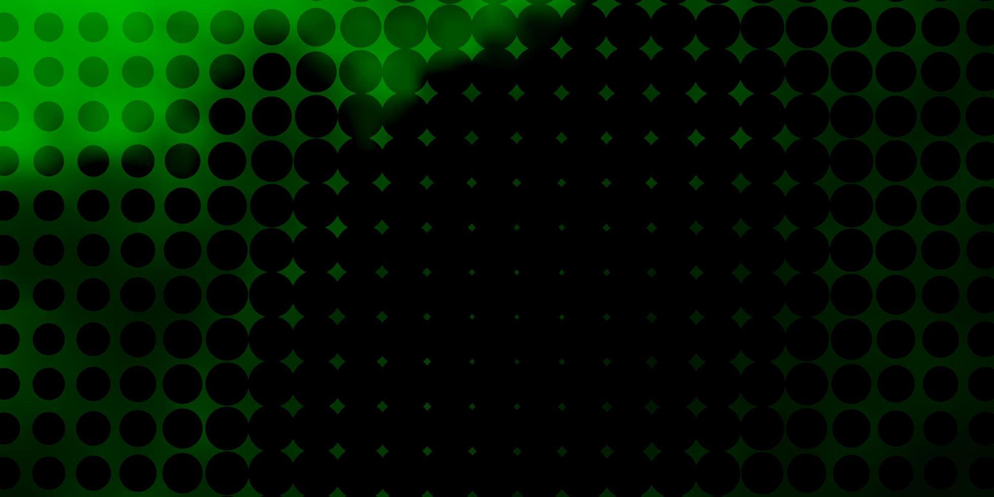 textura verde clara com discos. vetor