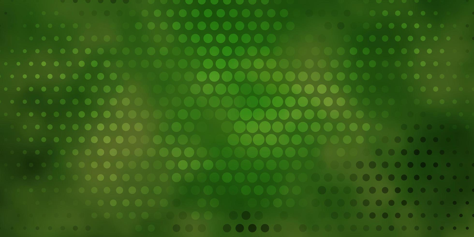 fundo verde escuro com círculos. vetor