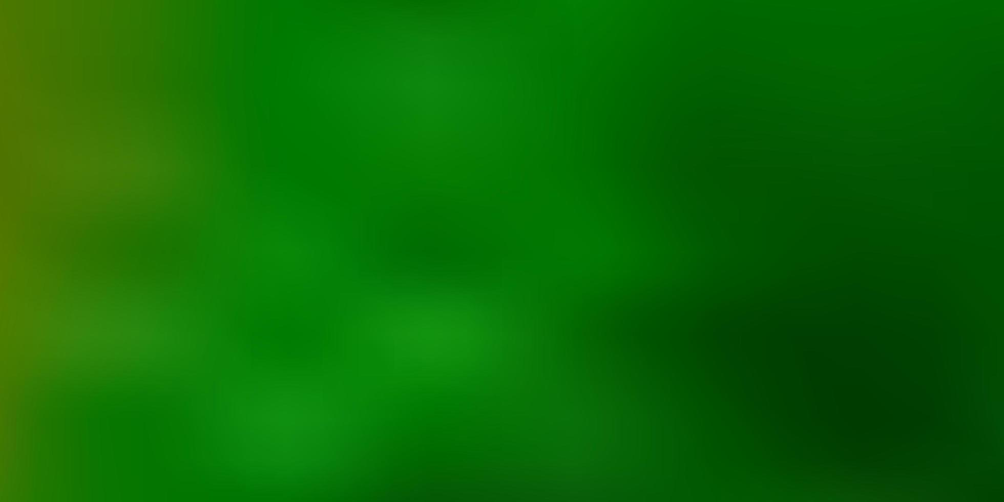 luz verde abstrato desfocar o fundo. vetor