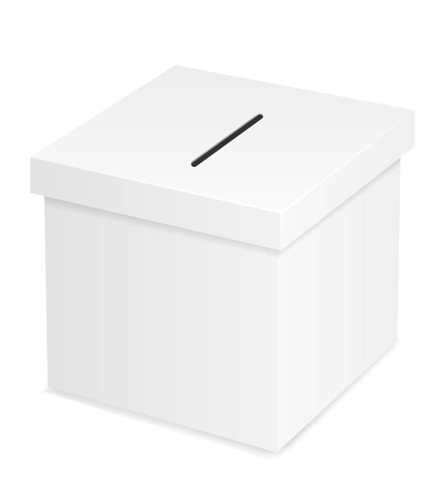 urna para votação eleitoral vetor