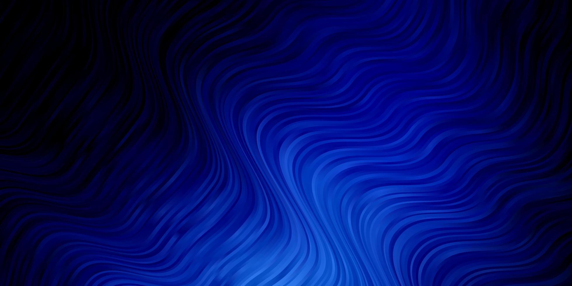 textura azul escura com arco circular. vetor