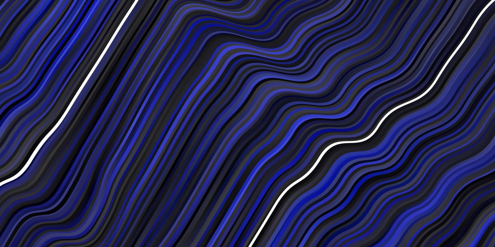 padrão azul escuro com curvas. vetor