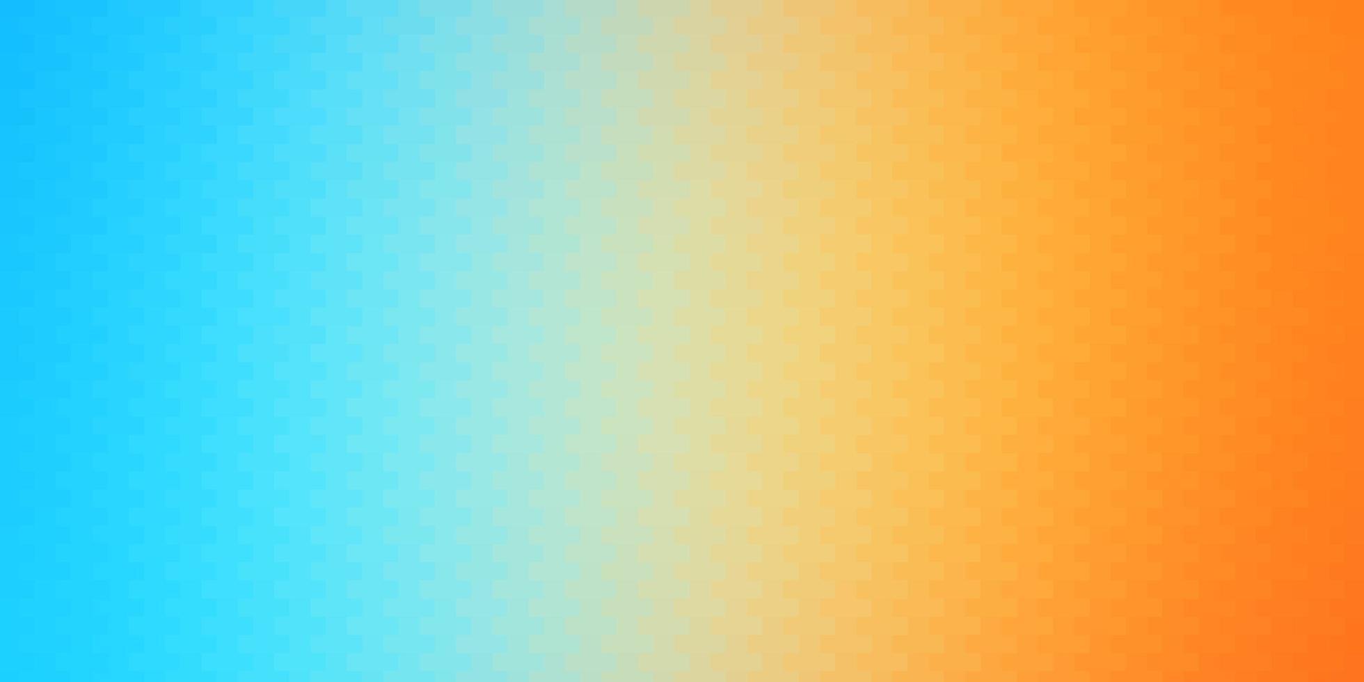 layout em azul claro e amarelo com linhas e retângulos. vetor