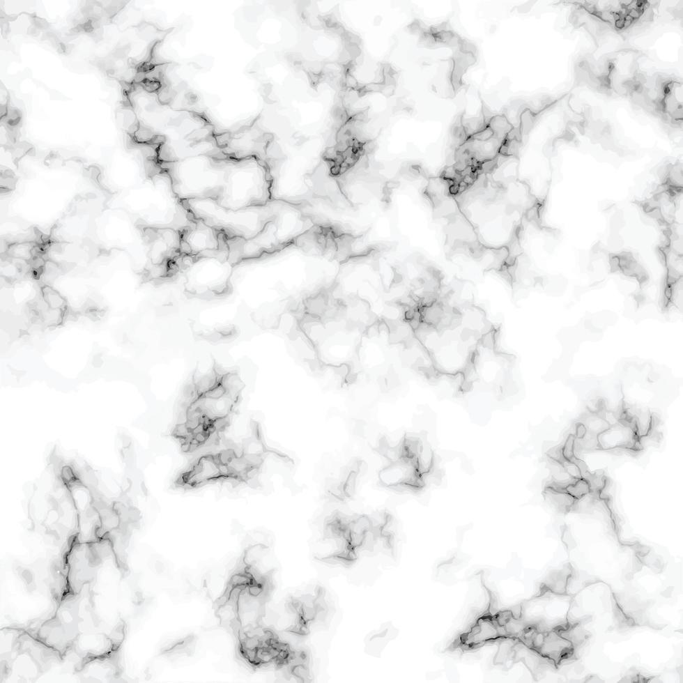 textura de mármore design padrão sem emenda, preto e branco vetor