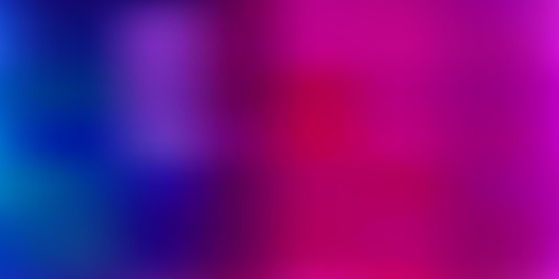 modelo de desfoque azul claro e vermelho. vetor