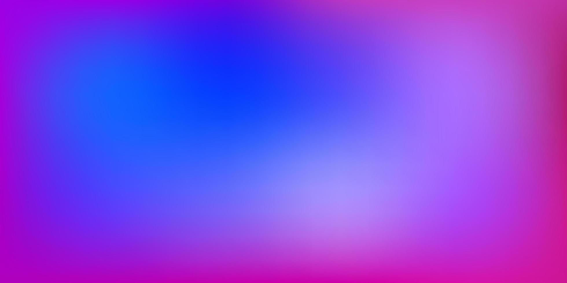 padrão de desfoque gradiente de vetor azul claro e vermelho