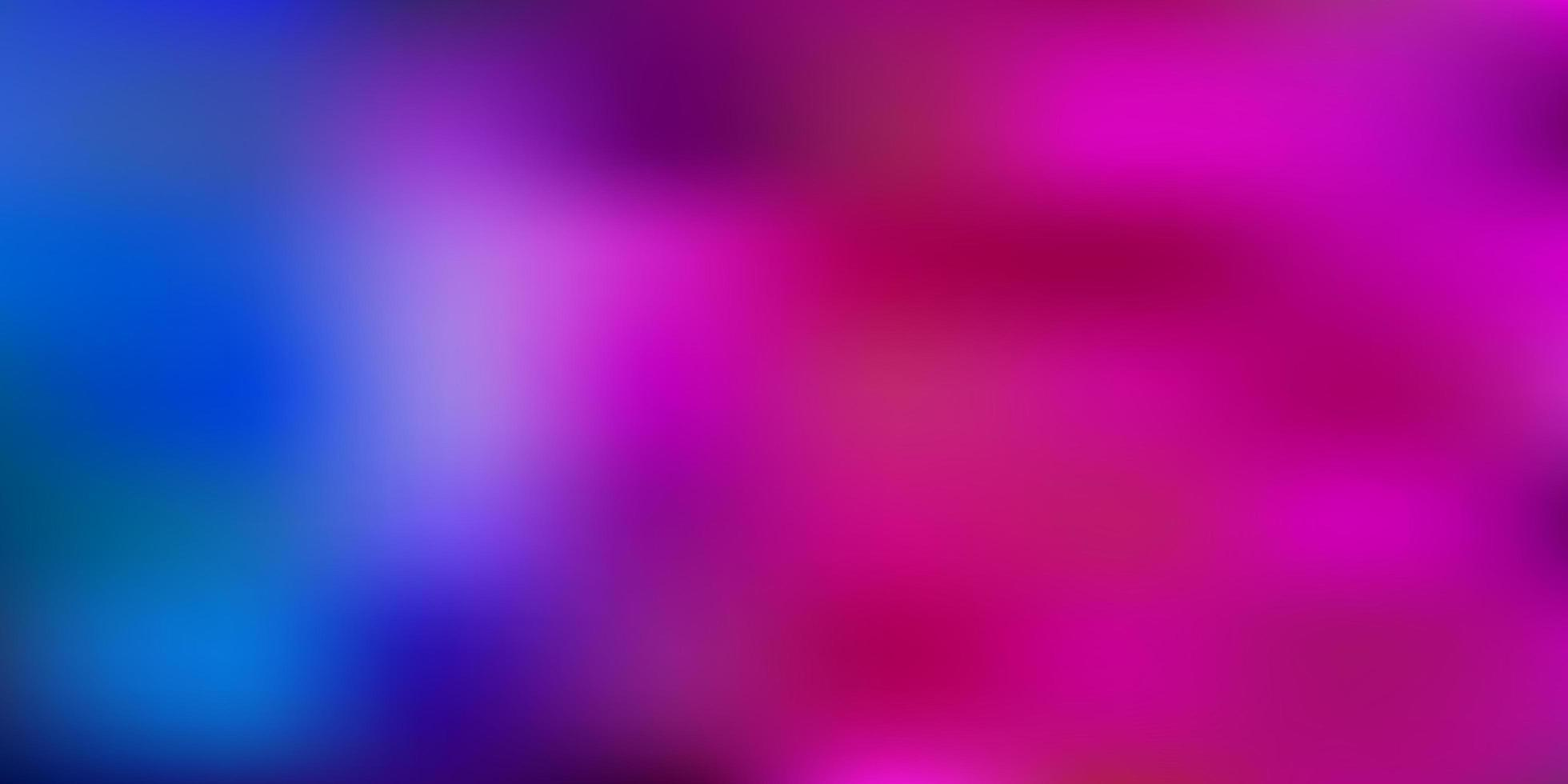modelo de desfoque de gradiente de vetor azul claro