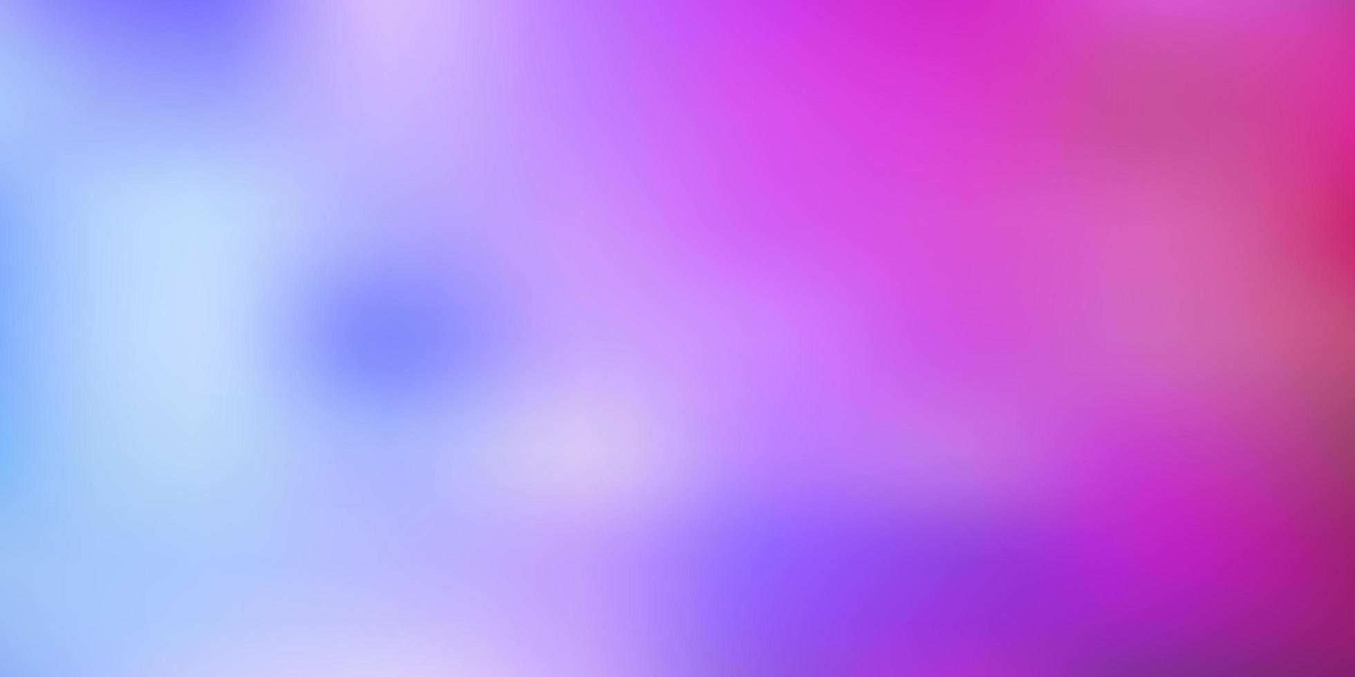 Desenho do borrão abstrato do vetor azul claro, vermelho.