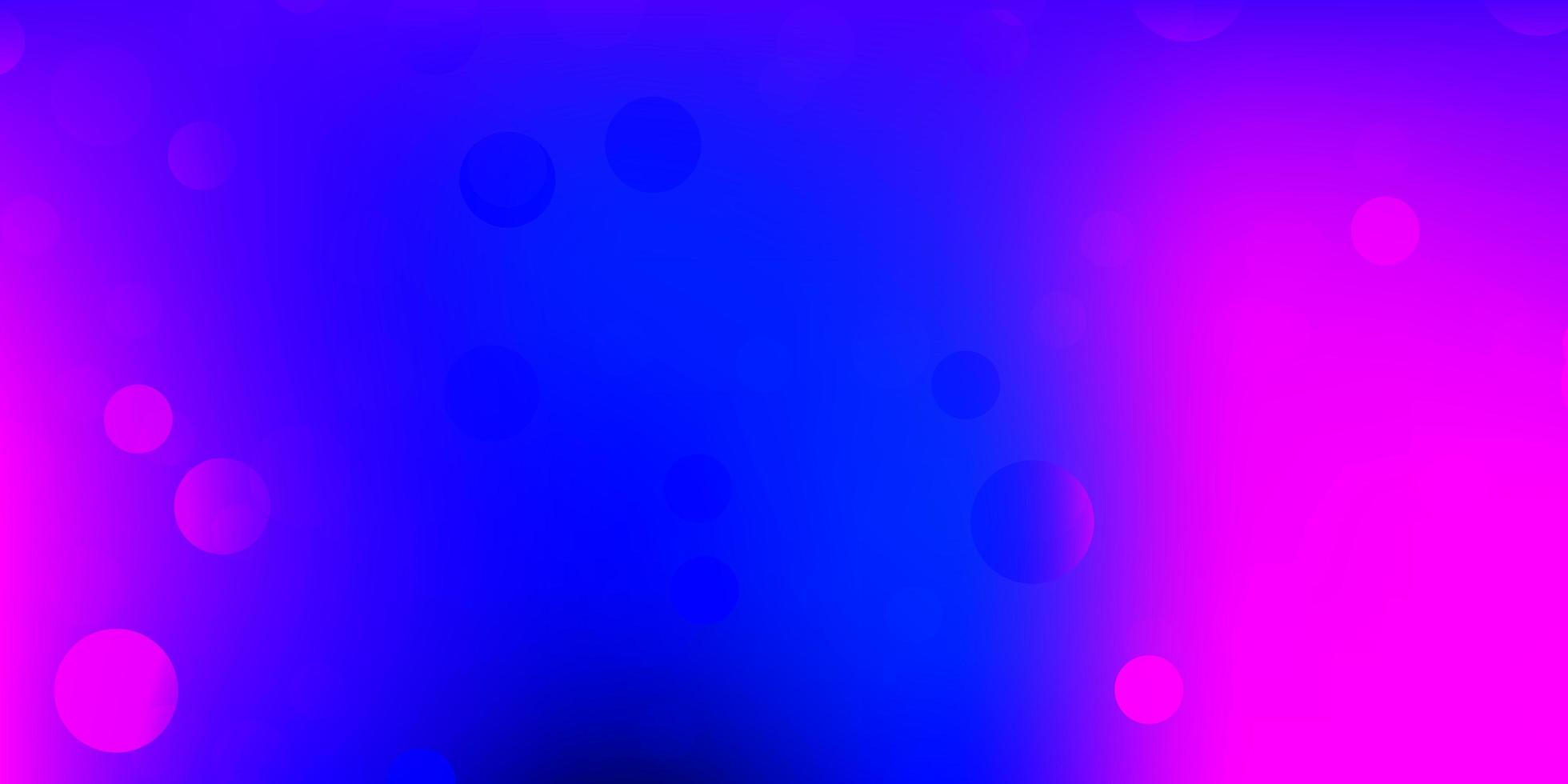 padrão de vetor rosa claro, azul com formas abstratas.