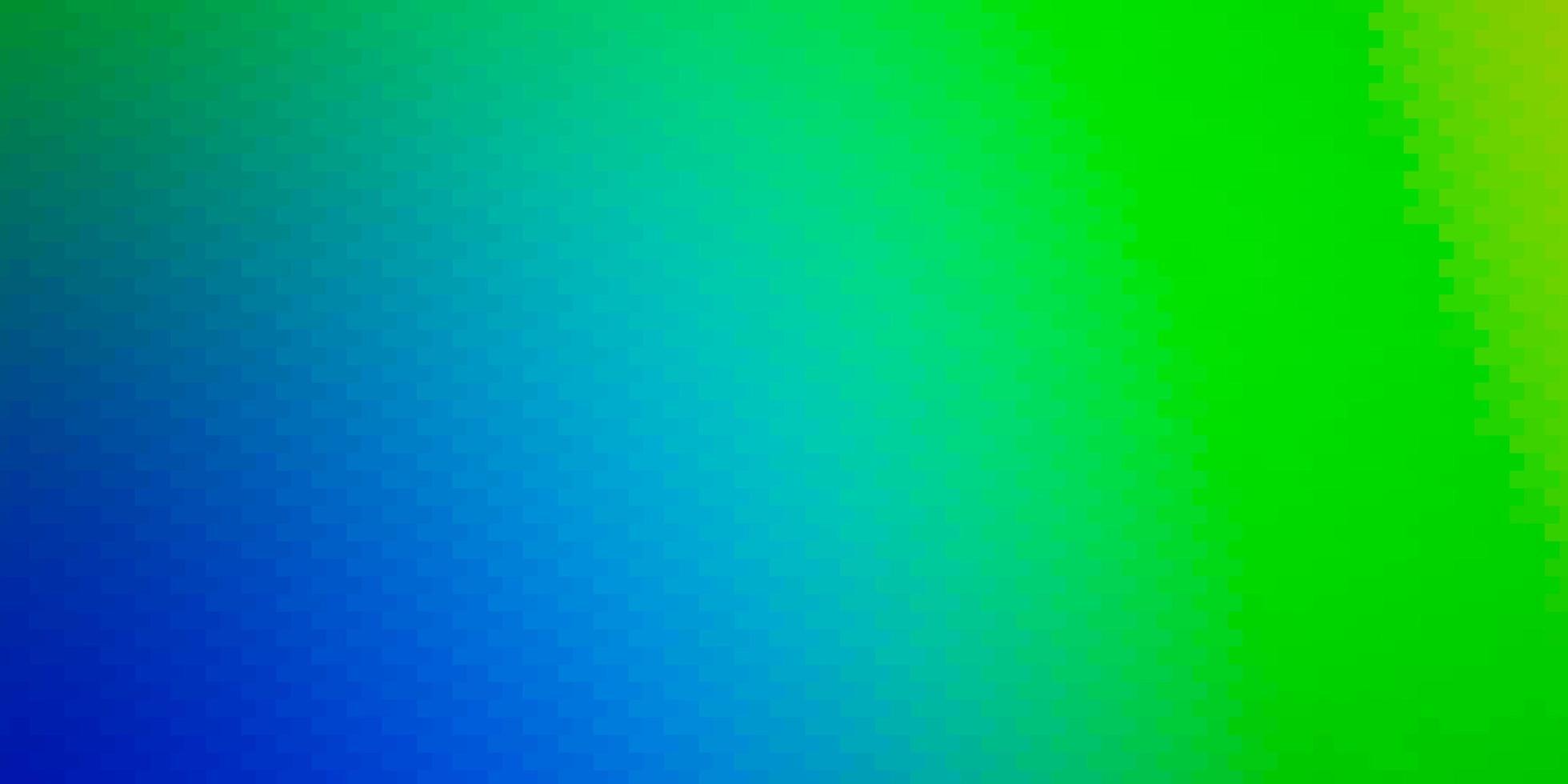 de fundo vector azul e verde claro em estilo poligonal.