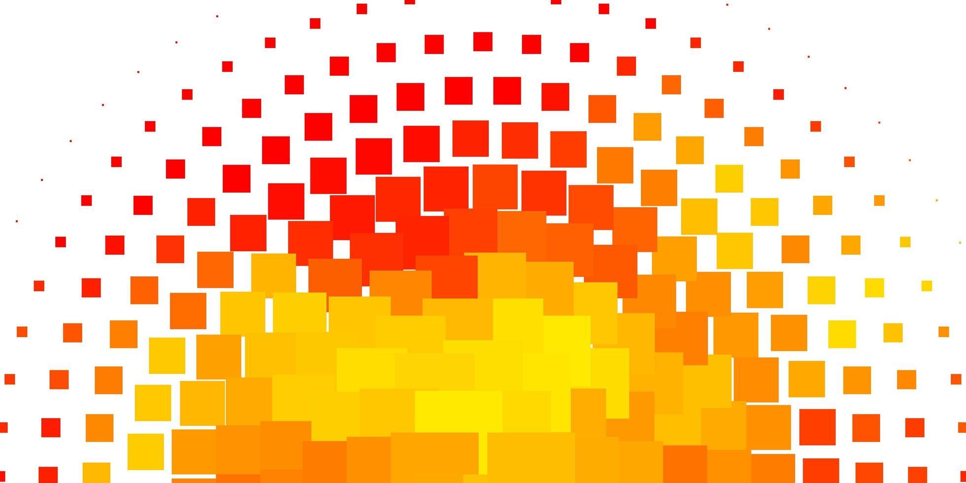 pano de fundo vector laranja claro com retângulos.
