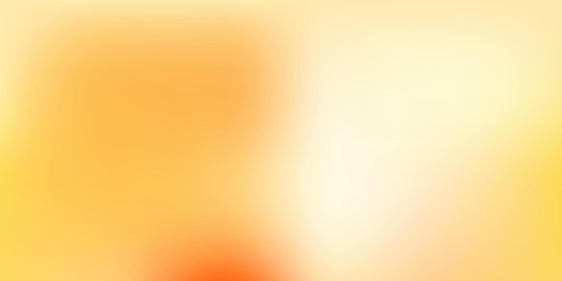 layout de borrão abstrato de vetor laranja claro.