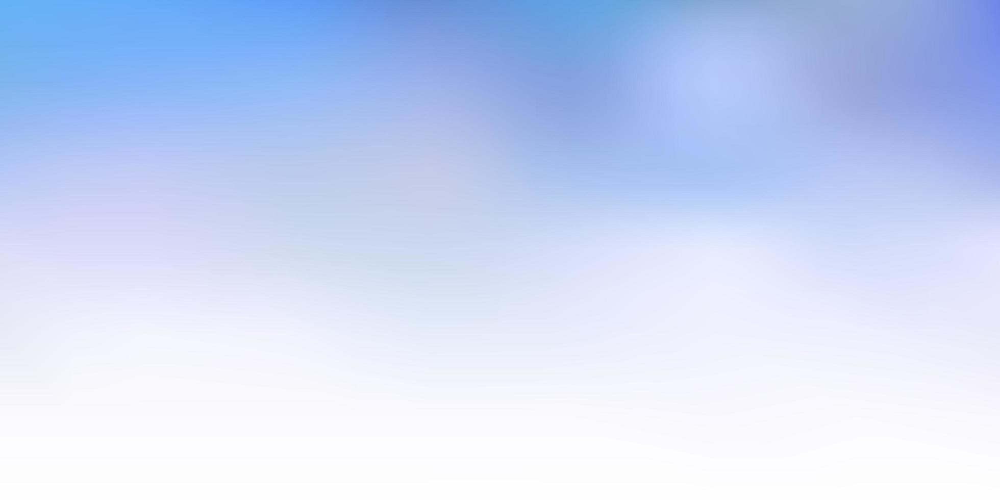 modelo de desfoque de vetor azul claro.