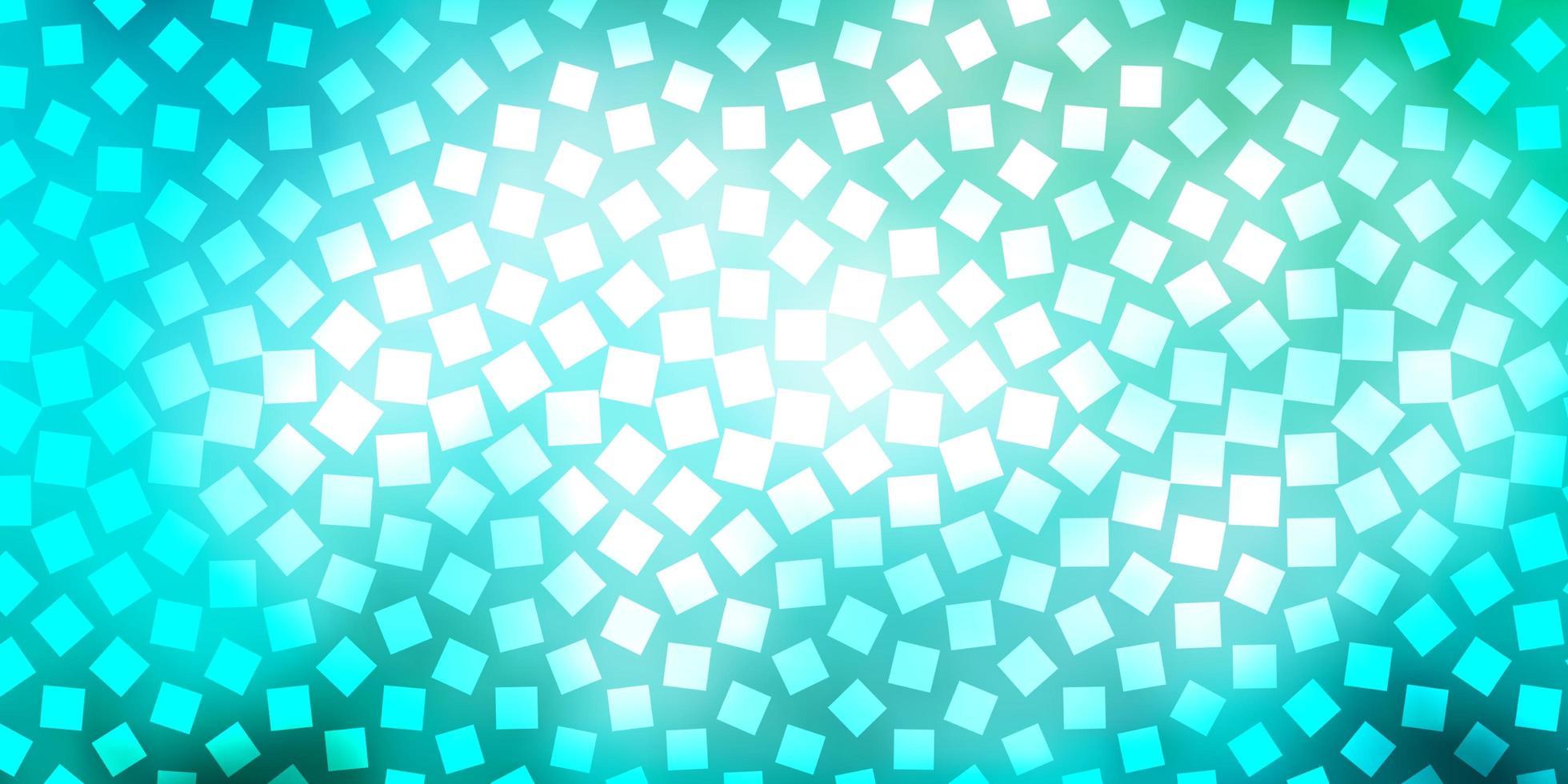 layout de vetor de azul claro e verde com linhas, retângulos.