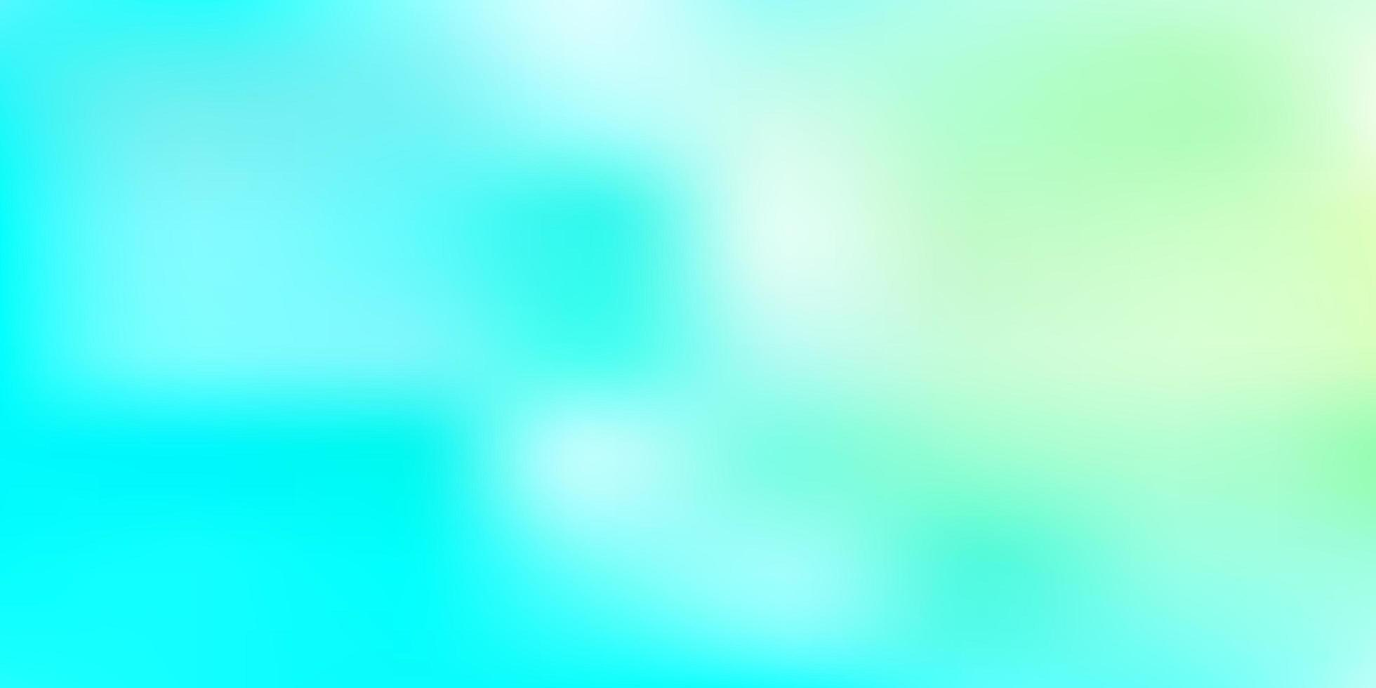 modelo de desfoque de vetor azul claro