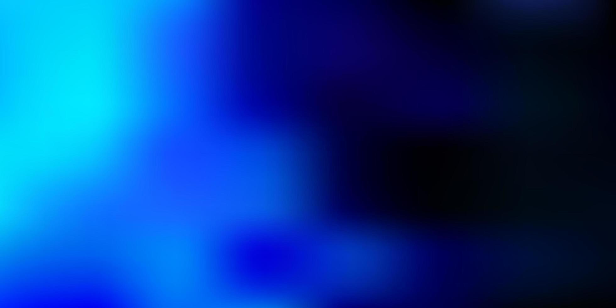 padrão de desfoque abstrato de vetor azul claro.