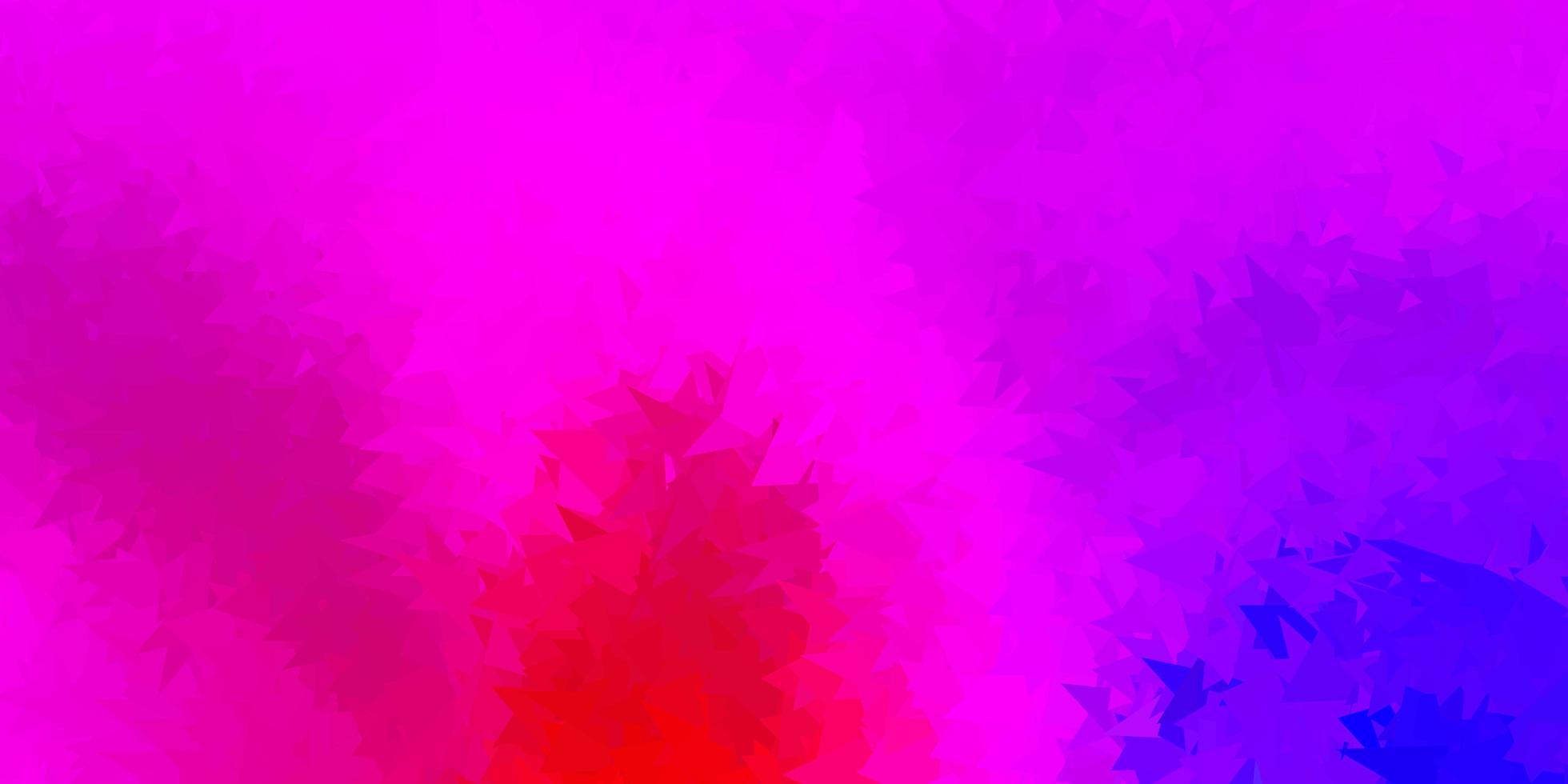 papel de parede poligonal geométrico de vetor rosa e vermelho escuro.